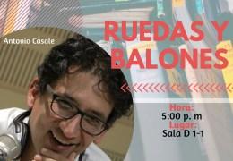 Encuentro deportivo 'Ruedas y balones'