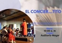 «El conciertito» Mochila Cantora