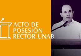 Acto de Posesión Rector UNAB