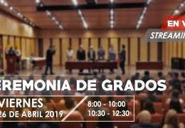 Grados UNAB 25 de Abril de 2019