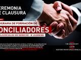 Ceremonia de Clausura Diplomado Programa de Formación de Conciliadores Extrajudiciales en Derecho B – Learning