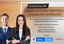 Ingreso a la Carrera Diplomática y Consular de Colombia 2021