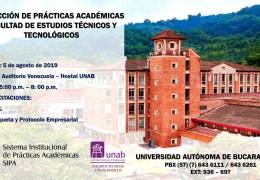 Inducción de Prácticas Académicas Facultad de Estudios Técnicos Y Tecnológicos