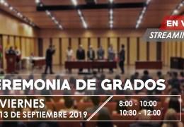 Grados UNAB 13 de Septiembre de 2019.