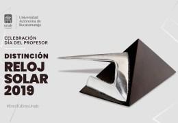 Celebración Día Del Profesor. Distinción Reloj solar 2019.