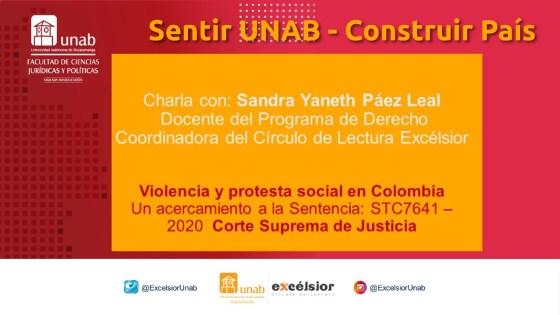 Violencia y Protesta Social en Colombia