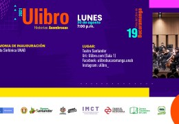 Ceremonia de inauguración Ulibro 2021 – Orquesta Sinfónica UNAB