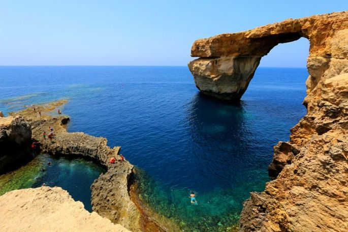 Azure Window. Juan Antonio Segal (Flickr)