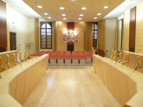 Mozione: trasferimento temporaneo del consiglio comunale presso la sala della Provincia