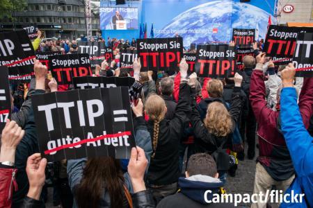 Partenariato Trans-Atlantico su commercio e investimenti (TTIP): depositata mozione per il ritiro del governo italiano