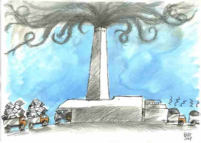 Interrogazione a risposta scritta: Situazione costi e ricavi inceneritore
