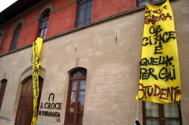 Intesa tra Comune, Università e Ardsu per l'utilizzo di Santa Croce in Fossabanda: perchè è tutto fermo?