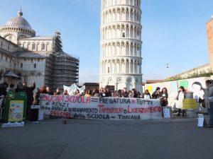 protesta precari scuola pisa 27 febbraio 2015-2