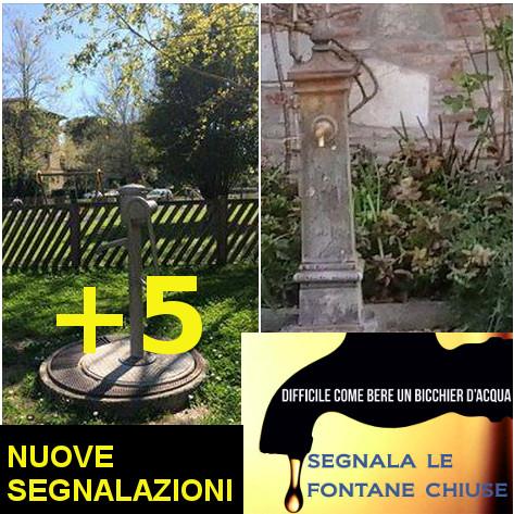 Fontanelle chiuse a Pisa: 5 nuove segnalazioni in poche giorni