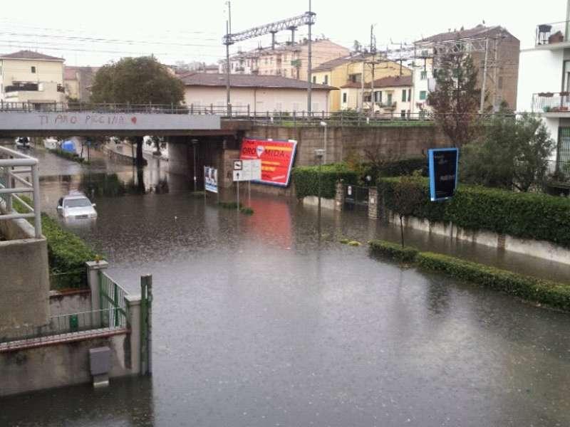 Interpellanza: deflusso delle acque via Sainati