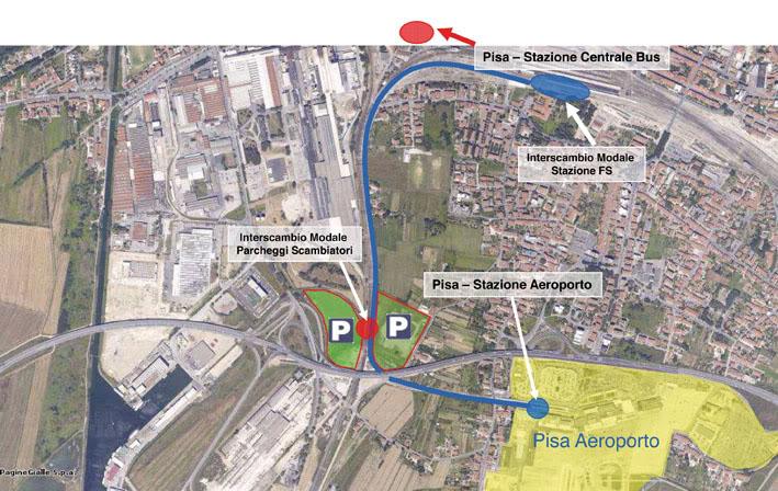 People Mover: espropri dei terreni, più soldi pubblici a Toscana Aeroporti