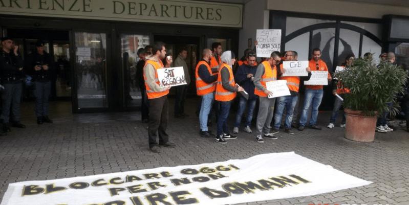 Sciopero Toscana Aeroporti: vicini ai lavoratori e alle lavoratrici. La parte pubblica prenda parola