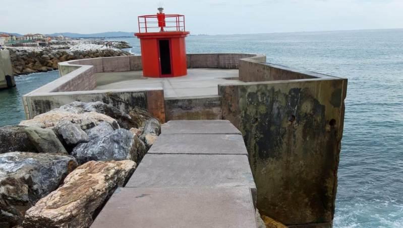 Question time: Crollo porzione camminamento sulla diga del Porto di Marina