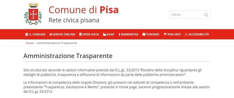Segnalazione all'Anac su mancata pubblicazione dati dell'assessore Buscemi