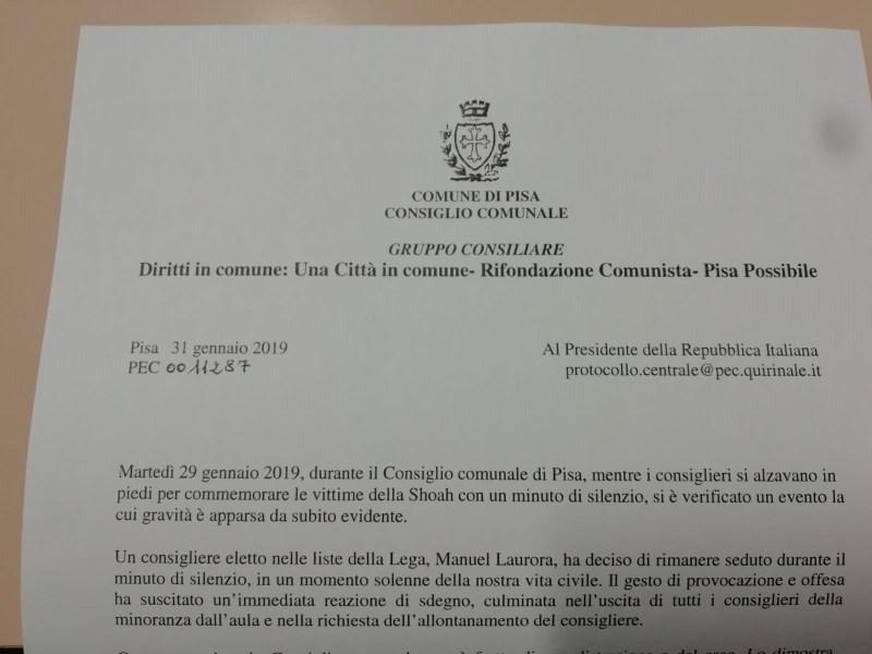 La nostra lettera al Presidente della Repubblica Italiana sul caso Laurora