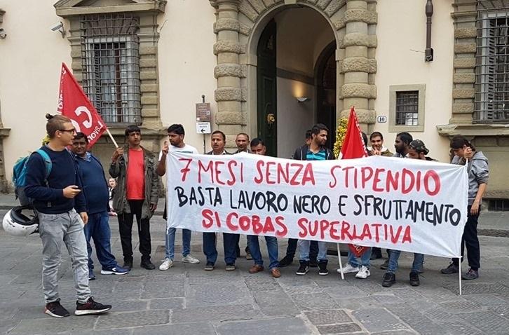 """Mozione urgente:""""Per l'abrogazione dei decreti sicurezza e l'immediato annullamento delle multe agli operai della Tintoria Superlativa di Prato"""""""