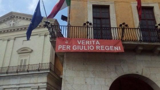 """Mozione: Riposizionamento striscione """"Verità per Giulio Regeni"""" sulla facciata di Palazzo Gambacorti"""