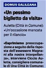 A Pisa anche Galileo viene sfrattato