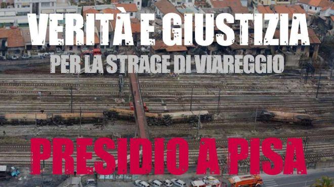 Strage di Viareggio - Pisa al fianco dei familiari delle vittime - Foto e video