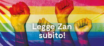 Mozione urgente: Il Parlamento approvi la legge sull'omotransfobia (cosiddetto DDL Zan)