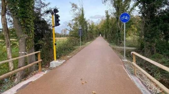 Interrogazione: Varianti in corso d'opera ciclopista