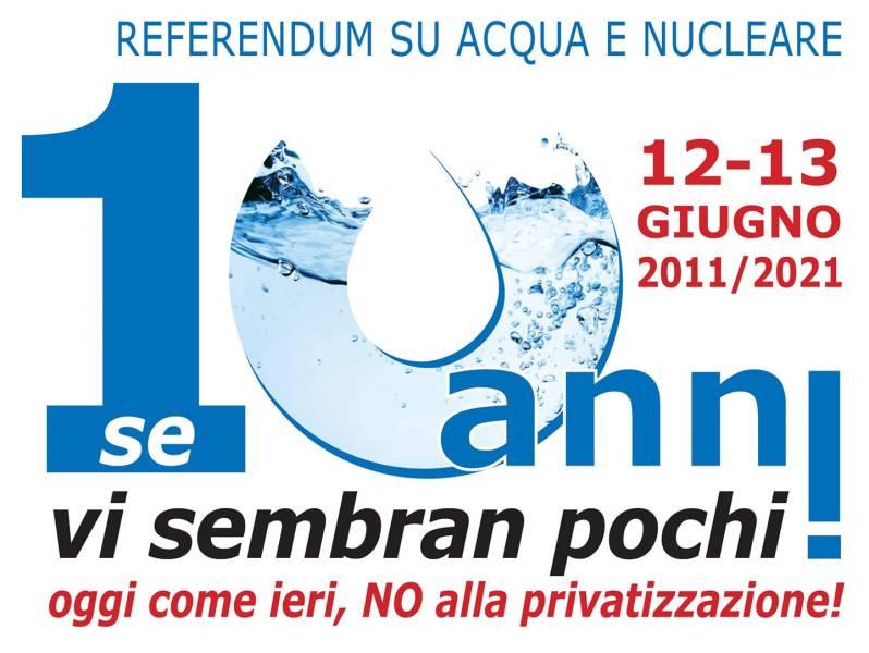 Acqua pubblica: gli italiani hanno detto Sì, ma il Governo ha la memoria corta