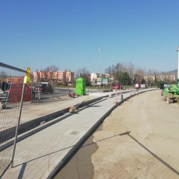 Interrogazione: Nuovi marciapiedi nell'area di Cisanello, via Padre Pio da Pietralcina