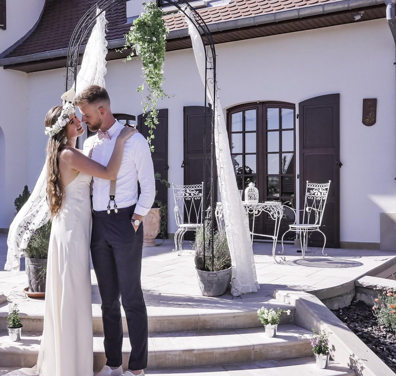 Looks pour le mariage civil