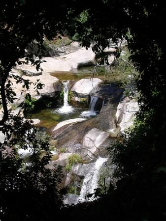 Cascada entre Cuacos de Yuste y Garganta la Olla