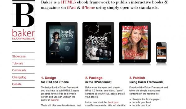 Baker Ebook Framework