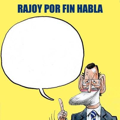 rajoy habla