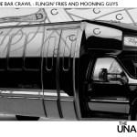 VOL. IV, EPISODE 10 - GREG vs. THE BAR CRAWL : FLINGIN' FRIES AND MOONING GUYS