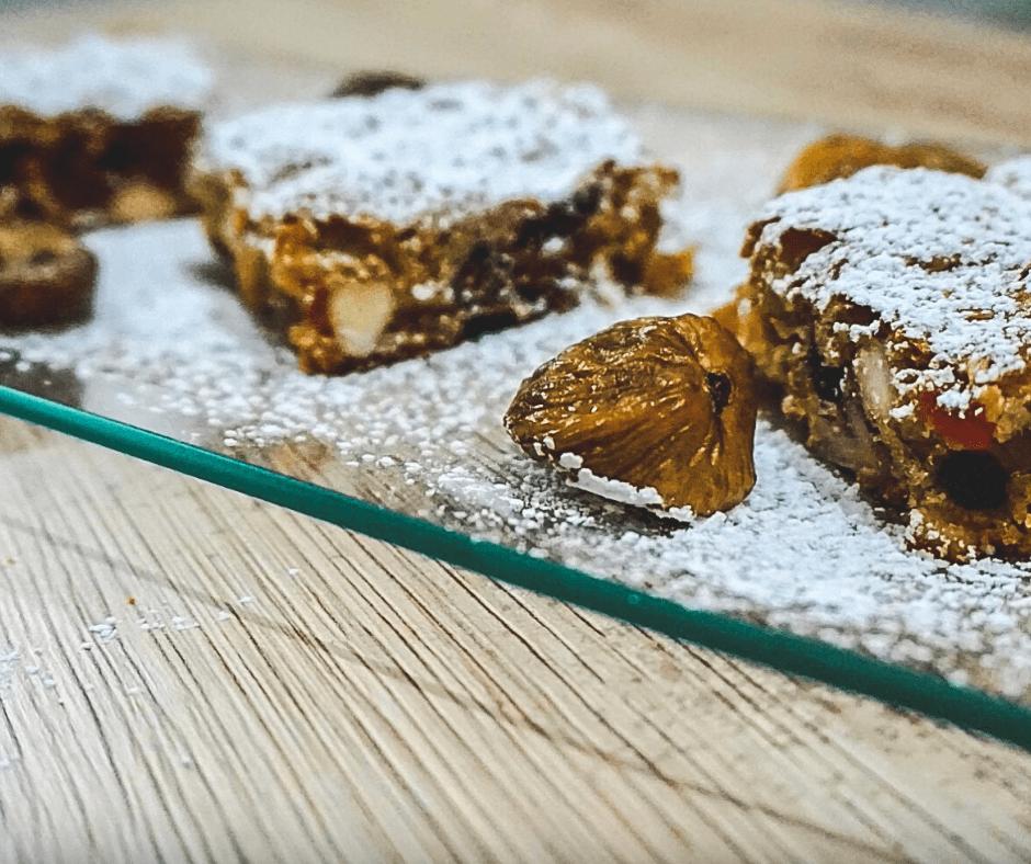 brownies con frutta secca e canditi