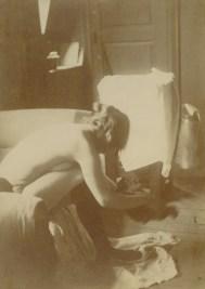 Seated nude, 1895