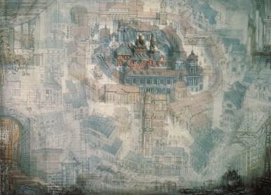 """""""Images of the city"""" M. Filippov & N. Bronzova (1987)"""