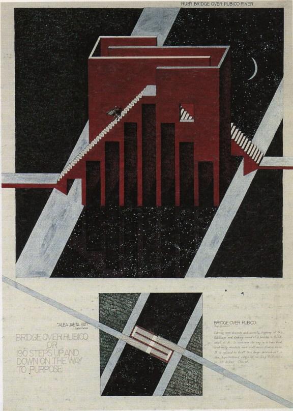 """Bridge across the Rubicon"" M. Belov (1987)"