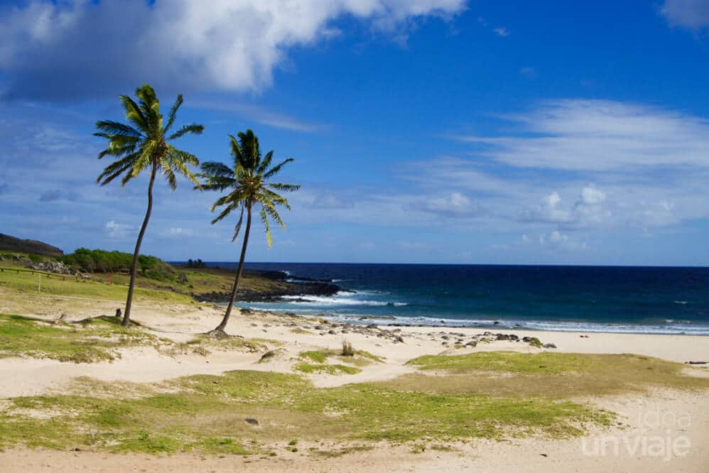 Playa de Anakena - Isla de Pascua