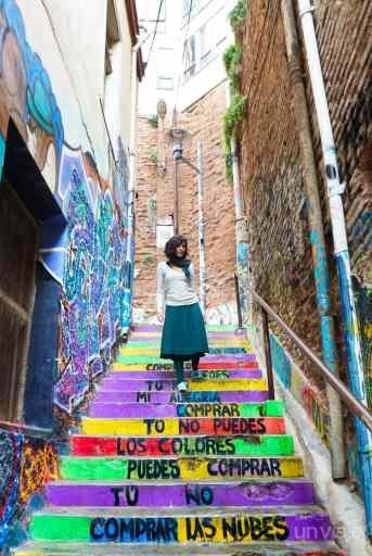 Escaleras Calle 13, Valparaíso