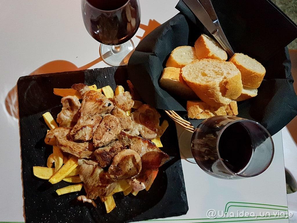 Gastronomía en el Jerte