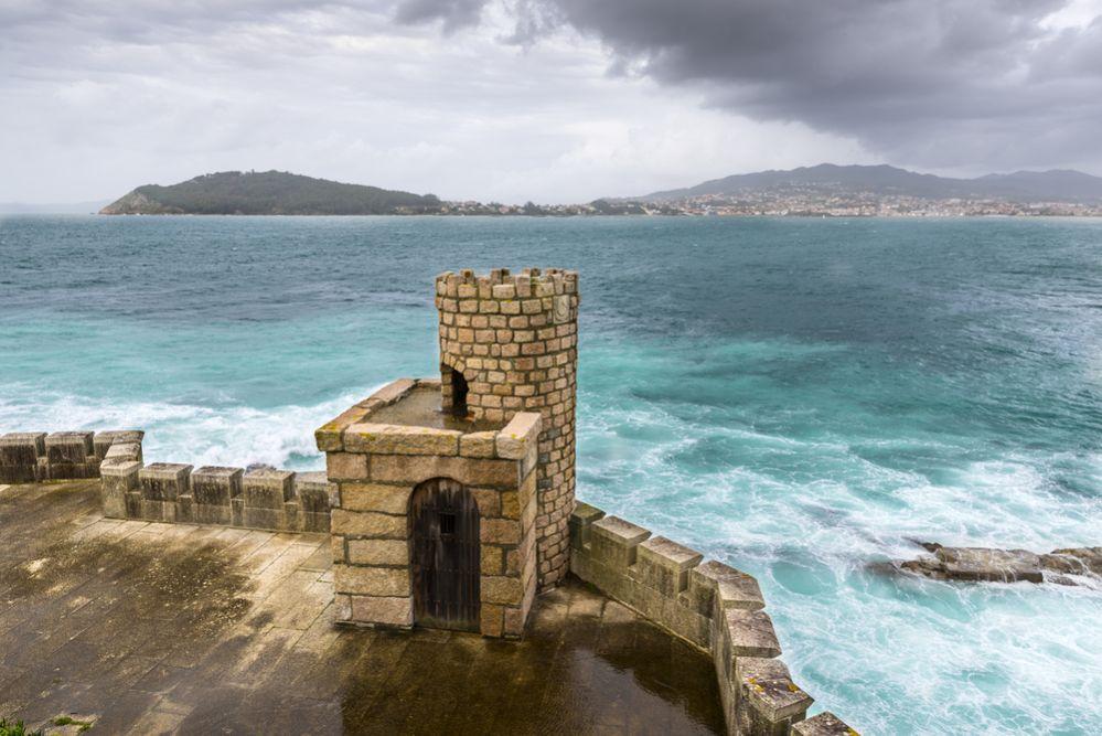 Vistas desde la fortaleza de Baiona