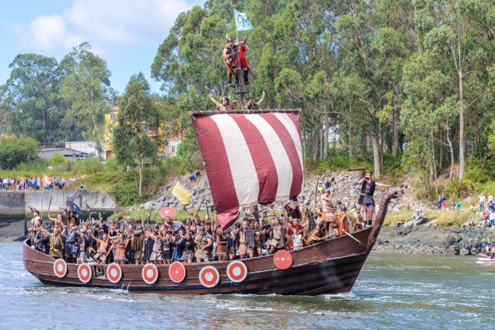 Desembarco Vikingo en Catoira