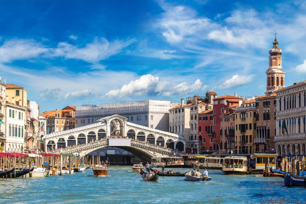 Puente Rialto, Venecia