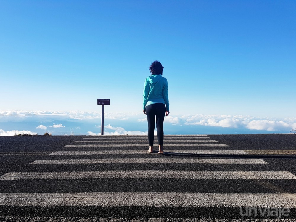 Carretera de subida a Haleakala