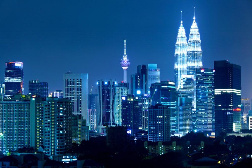 Kuala Lumpur de noche