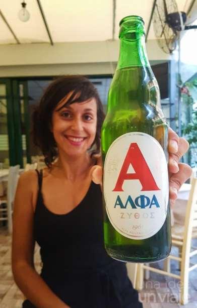 cerveza Alpha grecia